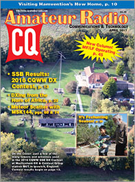 The Cover of CQ Amateur Radio